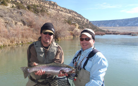 Fishing the San Juan River